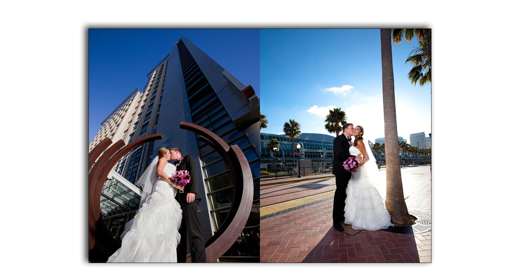 San Diego Hard Rock wedding photo album 03