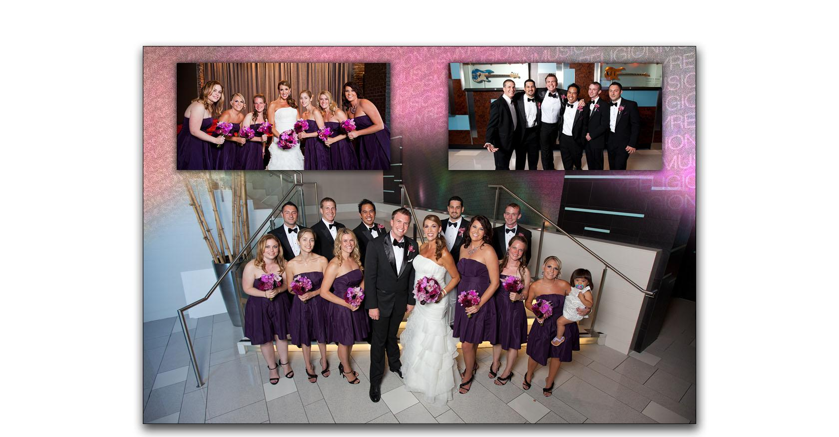 San Diego Hard Rock wedding photo album 04