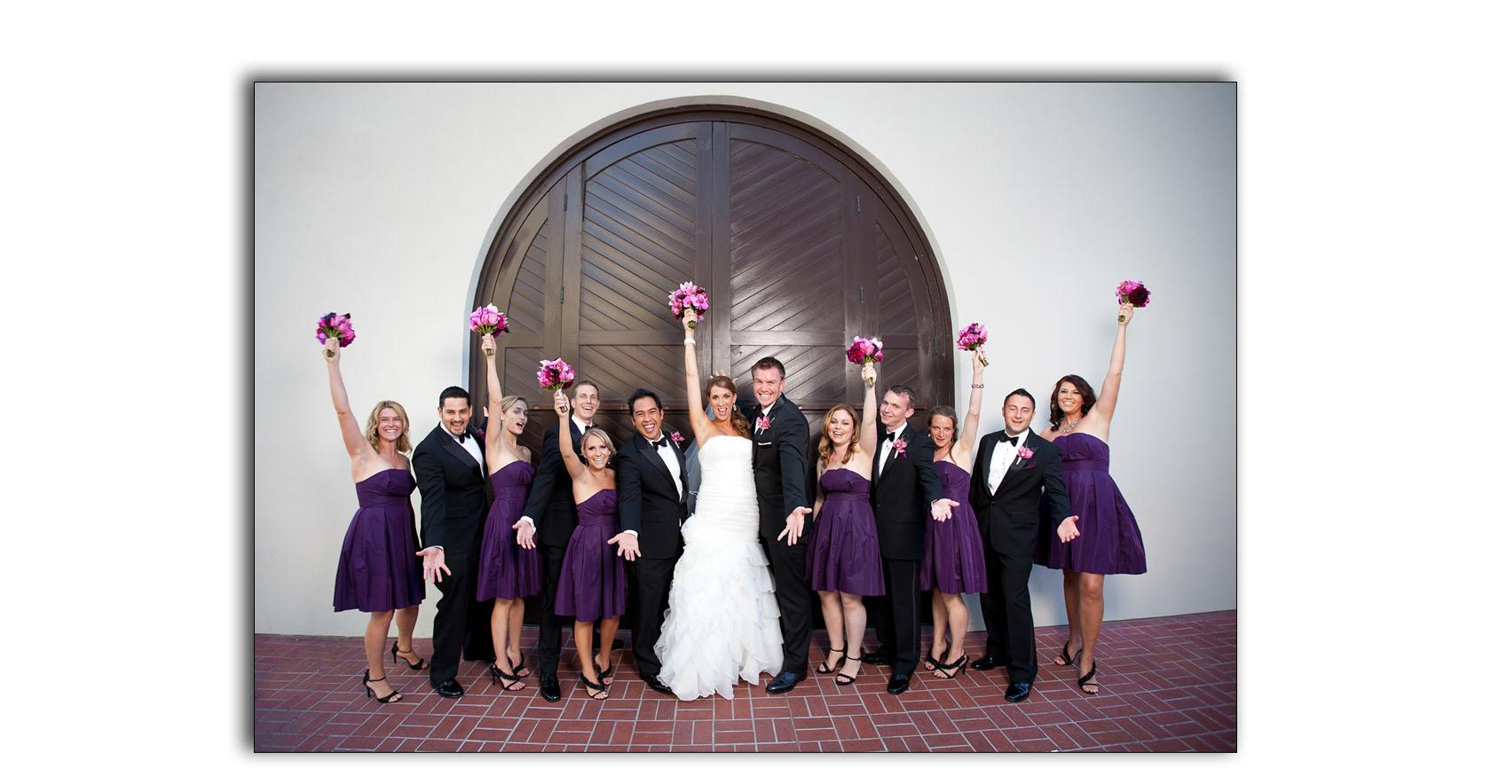 San Diego Hard Rock wedding photo album 05