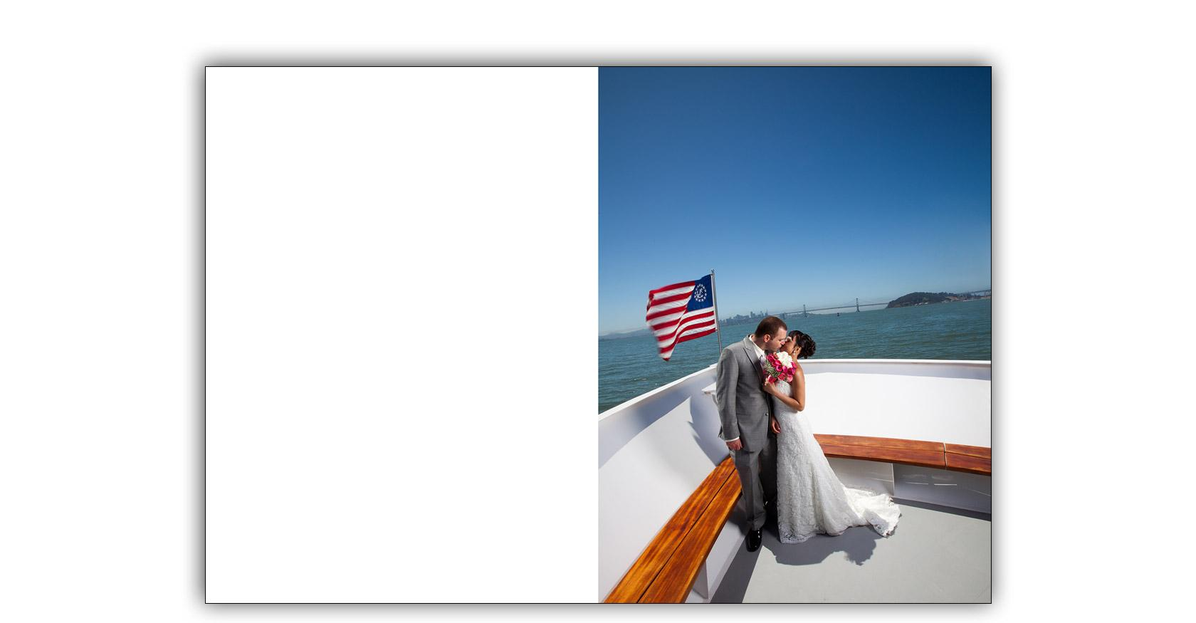 San Francisco Bay yacht boat wedding cruise Commodore Events Merlot photography album 01