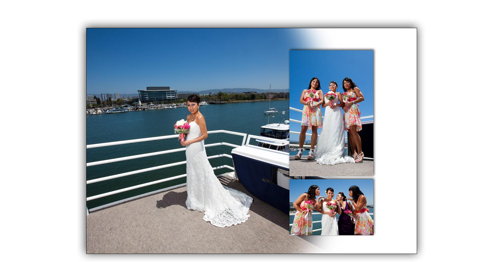 San Francisco Bay yacht boat wedding cruise Commodore Events Merlot photography album 04