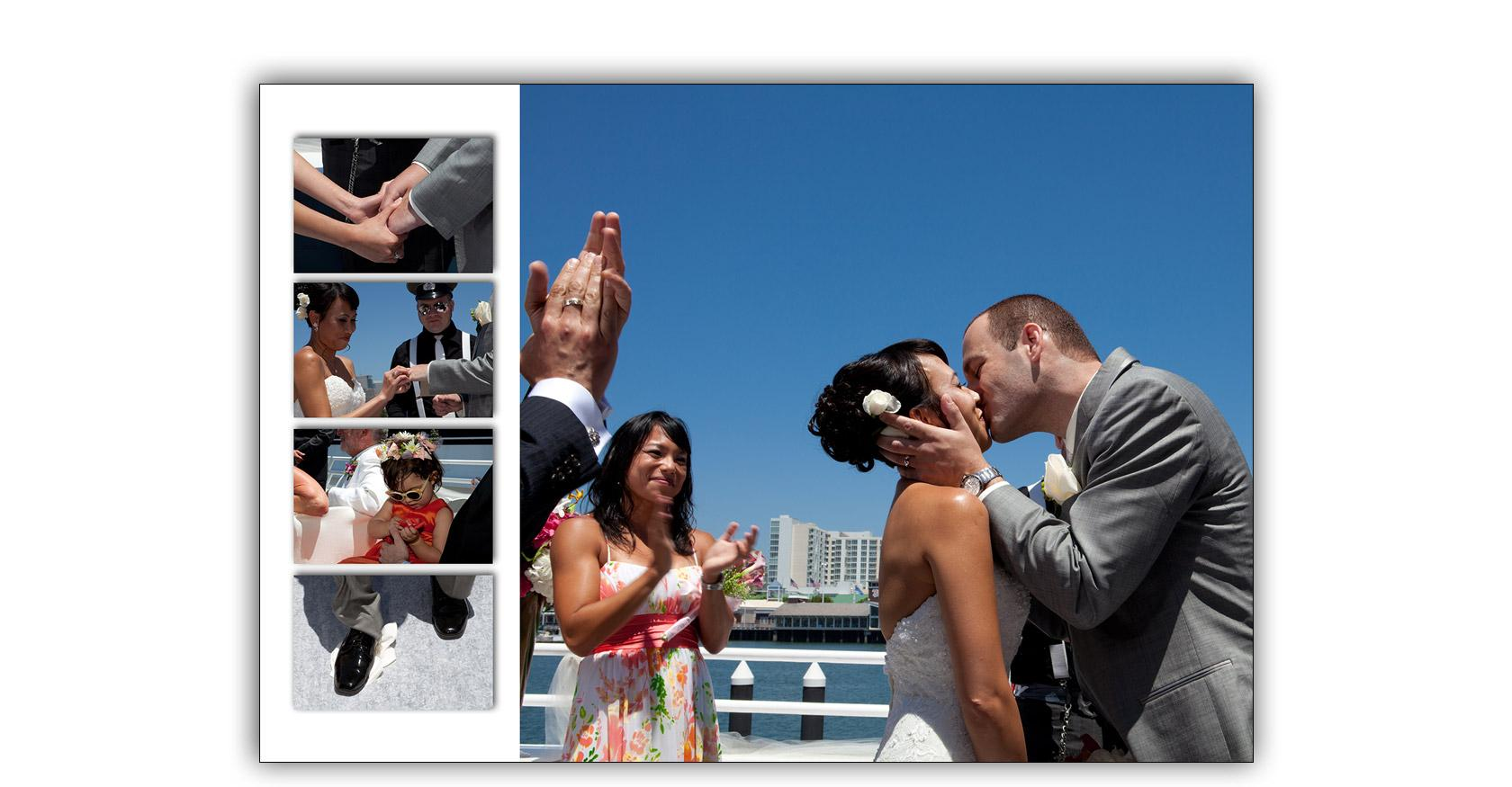 San Francisco Bay yacht boat wedding cruise Commodore Events Merlot photography album 07