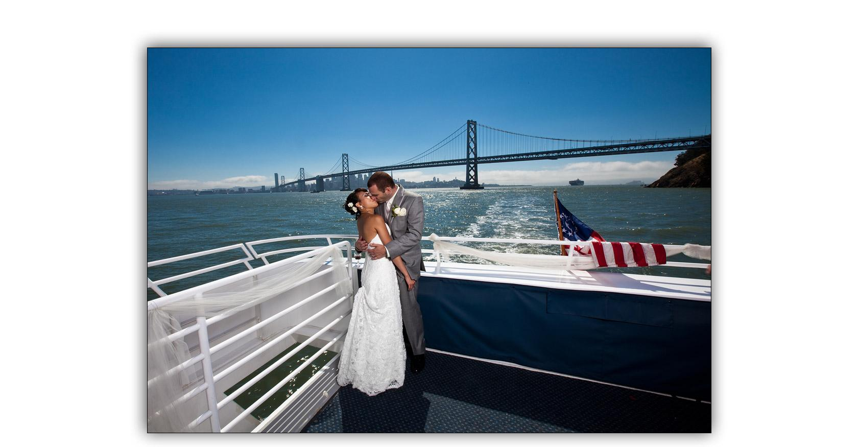 San Francisco Bay yacht boat wedding cruise Commodore Events Merlot photography album 09