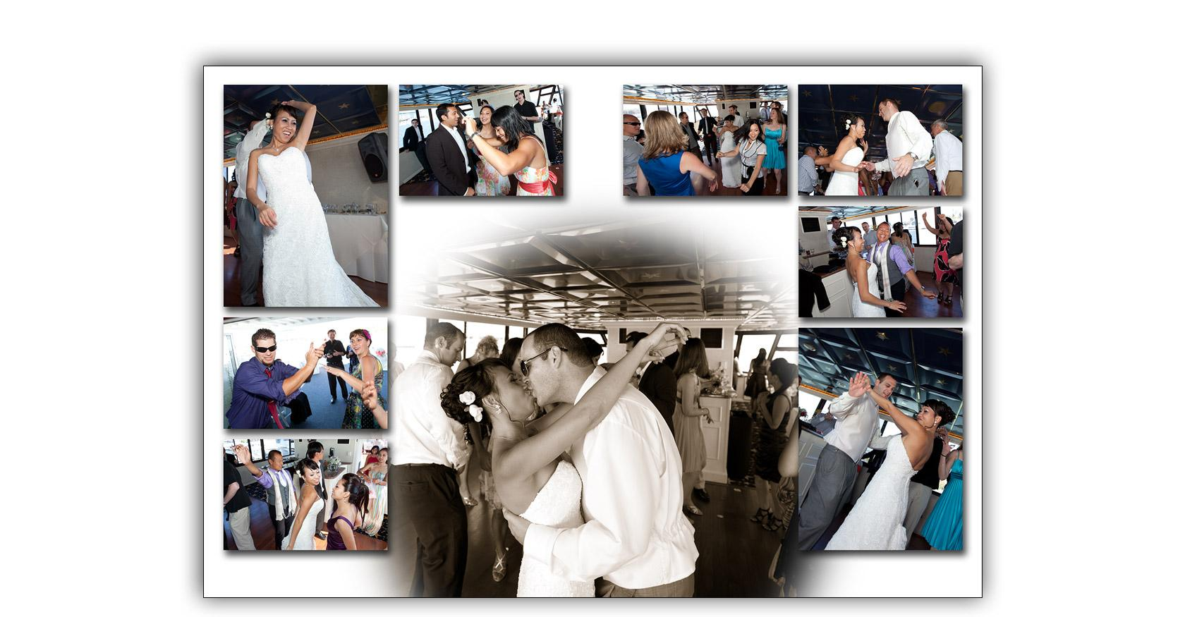 San Francisco Bay yacht boat wedding cruise Commodore Events Merlot photography album 12