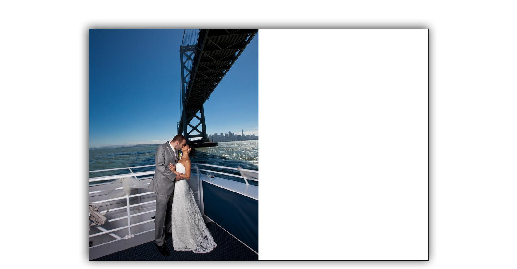 San Francisco Bay yacht boat wedding cruise Commodore Events Merlot photography album 17
